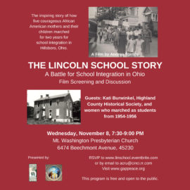 Lincoln School Story Screening and Discussion