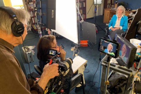 Andrea Torrice interviewing Ann Reid
